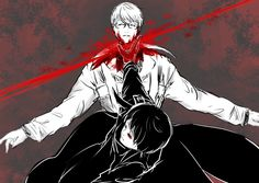 Arima and Kaneki ||| Tokyo Ghoul: Re Fan Art by chimescity on Tumblr