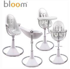 Bloom Fresco White & Silver, um ícone no segmento das cadeiras da papa. Descubra-a aqui: www.espacomamas.pt