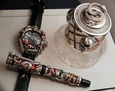 Montegrappa Chaos Watch For Stallone Hands-On