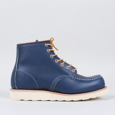 """Red Wing 6"""" Moc Toe Blue"""