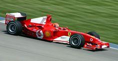 Michael Schumacher su Ferrari 2004