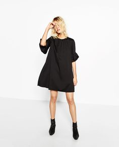 JUMPSUIT DRESS WITH FRILL ON SLEEVES-NEW IN-WOMAN   ZARA United States