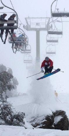 SKI Mt Buller, Australia ( time to go down under for more snow!)