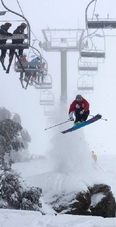 SKI Mt Buller, Australia ( time to go down under for more snow!)