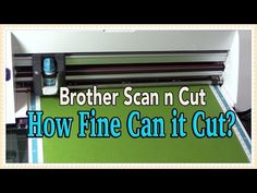 ▶ ScanNCut: Julie's Four Fabulous Tips for Cutting Fabric - YouTube