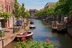 Leiden, South Holland, The Netherlands jigsaw puzzle Leiden Netherlands, Holland Netherlands, Day Trips From Amsterdam, Amsterdam City, Rotterdam, South Holland, Beautiful Places In The World, Amazing Destinations, Travel Destinations