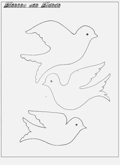 Dove Template To Print general Free Printable Christmas Dove Gift Tags. Bird Patterns, Applique Patterns, Craft Patterns, Bird Template, Ornament Template, Christmas Tag, Christmas Tree Ornaments, Christmas Projects, Christmas Wrapping