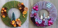 Découvrez comment faire une couronne de Noël avec de la laine, du carton, et quelques décorations de votre choix pour parfaire la finition de votre couronne. C'est donc avec 3 fois rien que vous pourrez réaliser une superbe couronne de Noël en laine plus...