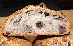 Pan de romero y aceitunas
