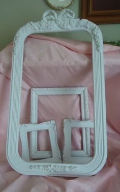 Vintage Picture Frames Shabby Cottage Chic