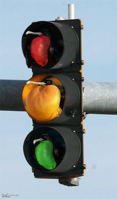 An interesting stop light