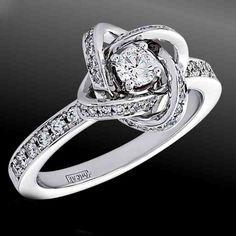 Merveilleux Vintage Platinum Engagement Rings