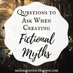 Questions to Ask When Creating Fictional Myths - Quill Pen Writer Creative Writing Tips, Book Writing Tips, Writing Resources, Writing Help, Writing Prompts, Writing Workshop, Writers Notebook, Writers Write, Writing Images
