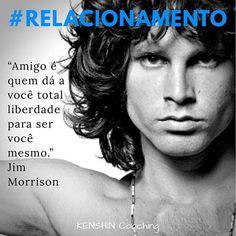Jim Morrison, artista musical e poeta que influenciou gerações, é o homenageado de hoje em #relacionamento na galeria #34lentes.   Você conhece seus Pontos Fortes?  #descubraseuspontosfortes #cliftonstrengths #relator #autoconhecimento #amizade #motivacao #strengthsfinder Jim Morrison, Poet, Friendship, Interpersonal Relationship, Artists, Celebrities