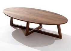 Finn Oval Coffee Table Contemporary Tables By Speke Klein Triangulaire