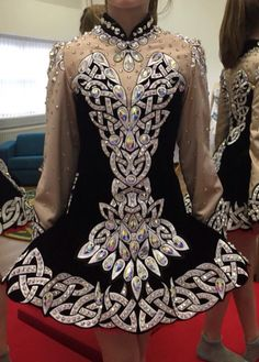 **Rising Star Designs**Irish Dance Solo Dress Costume**