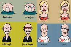 Why I Wear Glasses #cartoon