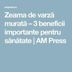 Zeama de varză murată – 3 beneficii importante pentru sănătate | AM Press