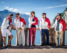 The youngest and most stylish crew of the GC32 racing tour. A special jacket made in collaboration with Pierre Casiraghi for charity. More on http://www.fay.com/fay-life/projects/race-jacket/