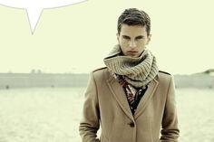 Nice scarf idea