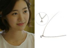 "Jin Se Yeon in ""Doctor Stranger"" Episode 12.  Francis Kay Petite 14K White Gold Necklace #Kdrama #DoctorStranger #JinSeYeon #진세연"