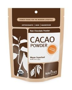 Navitas Naturals, Raw Chocolate Powder, Organic, 16-Ounce Pouches (Pack of 2) by Navitas Naturals, http://www.amazon.com/dp/B001E5E0Y2/ref=cm_sw_r_pi_dp_hMIVqb08MVE1K