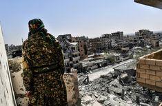 المعارك لطرد تنظيم الدولة الاسلامية من مدينة الرقة شارفت على نهايتها - فرانشيفال