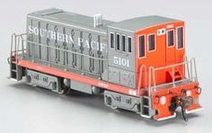 N Spectrum 70-Ton w/DCC, SP #5101 by Bachmann Industries. $87.15. GE 70 Ton. This is the N Scale DCC Southern Pacific (Gray & Red) GE 70 Diesel Locomotive (#5101) from the Bachmann Spectrum Series. Suitable for Ages 14 & Up.FEATURES: DCC-equipped for speed, direction, and lighting Dual mode NMRA-compliant decoder 8-wheel drive Precision can motor Die-cast chassis Front and rear metal cut levers N scale RP25 wheel contoursINCLUDES: One DCC Southern Pacific (Gray & Red) GE...