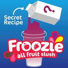 Only two people in the whole world know the #secret recipe for our new #Froozie flavour, do you have any ideas of what it could be?