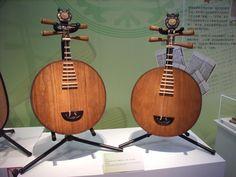 Zhongruan Chinese Lute Guitars- Mandolin Banjos.