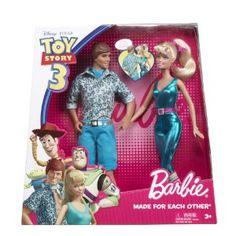 Disney-Barbie Toy Story 3 Barbie And Ken Doll « Game Searches, Barbie And Ken Costume, Barbie Und Ken, Barbie Doll Set, Barbie Toys, Barbie Party, Ken Doll, Girl Barbie, Disney Barbie, Disney Dolls