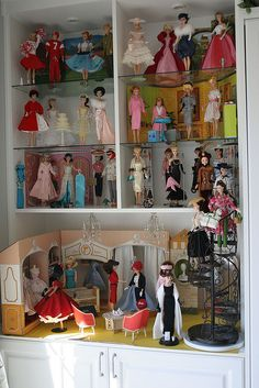 Delicieux Doll Room Vintage Repro Cabinet 1 | By Think_pink1265
