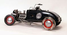 Just a Car Guy: James Corbett car parts sculptures
