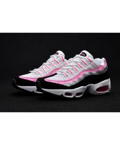 separation shoes 00201 d4842 Nike Air Max 95 Ultra Pink White Black Grey Trainers Air Max 95 Pink, Cheap