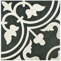 Arte Black Tile