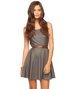Grey Dress (WTF, I added this to my cart, went to pay, and it kept messing up and now it's sold out!!!).