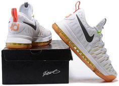 newest 9f2a1 e9b45 Nike Zoom KD 9 Lmtd EP Mens Basketball shoes White rainbow1 Kd 9, Kd  Basketball