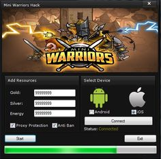 Mini Warriors Hack http://abiterrion.com/mini-warriors-hack/