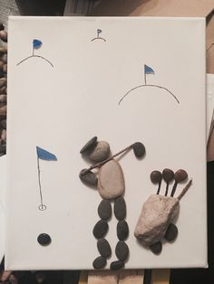 SOLD - Golfer by N Marks