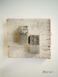 My Meraki - Impronte metropolitane 01. Cemento, legno da cassero.