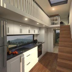 FAMILY - 9.6 Metre (31ft) Tiny House Plans >> Tiny Real Estate