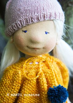 Avery - a 16'' doll child