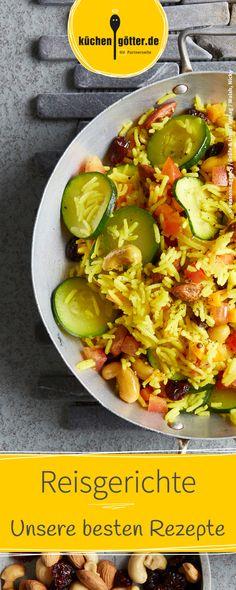 Ob gebratenen Reis, Reissalat, Risotto, Milchreis oder Reispfannen, hier ist für jeden Geschmack etwas dabei. Hier findet ihr unsere besten Reis-Rezepte mit frischen und leckeren Zutaten.