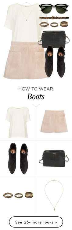 """""""Untitled #4610"""" by laurenmboot on Polyvore featuring Topshop, MANGO, Calvin Klein, H&M, Khai Khai, Forever 21, Ray-Ban and Dorothy Perkins"""