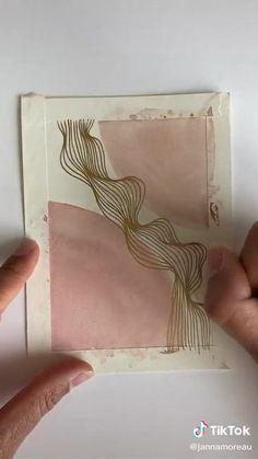 Watercolor Painting Techniques, Watercolor Paintings, Watercolour, Diy Canvas Art, Art Drawings Sketches, Doodle Art, Art Tutorials, Diy Art, Illustration Art
