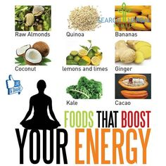 Foods That Boost Your Energy