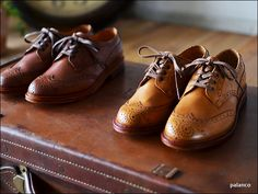 Palanco Wing chip Leather Shoes 757MA