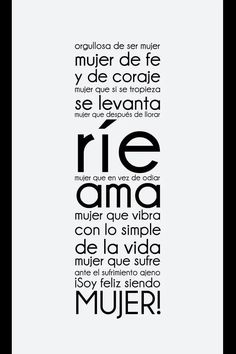 Frases Mujer