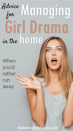 Girl drama: this is a must read for moms of girls, especially preteens!
