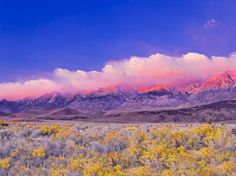 Owens Valley | Sunrise Over Owens Valley